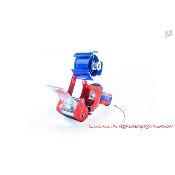 Handabroller Profipacker 50 (Sicherheitsabroller, tesa Qualität)