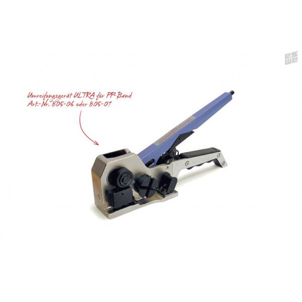 Einhebel-Kombi-Umreifungsgerät ULTRA  (Umreifungsband PP, Art.Nr. 80-06 bzw. 805-07)