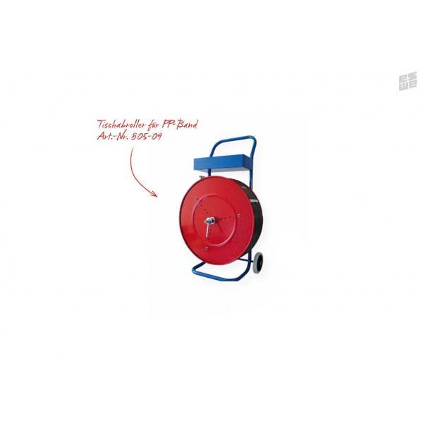 Abrollwagen für Großrollen (Umreifungsband PP, Art.Nr. 805-01)