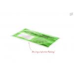 Begleitpapiertaschen grün, Aufdruck LIEFERSCHEIN-RECHNUNG, DIN-Format DL  (UNIPACK Qualität)