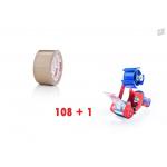 Spar-Set Packband PVC-SUPER, braun
