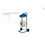 Abrollwagen mit Ablagekasten (Umreifungsband Poly-Textil, Art.Nr. 805-10)